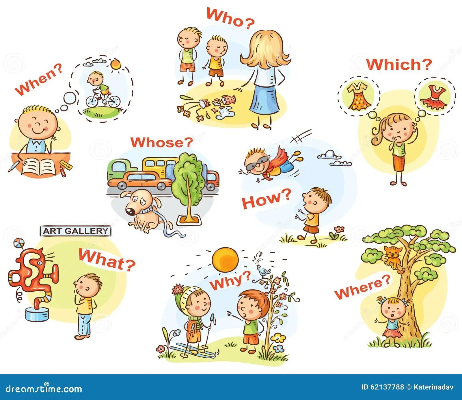 Questione Palavras Nas Imagens Dos Desenhos Animados