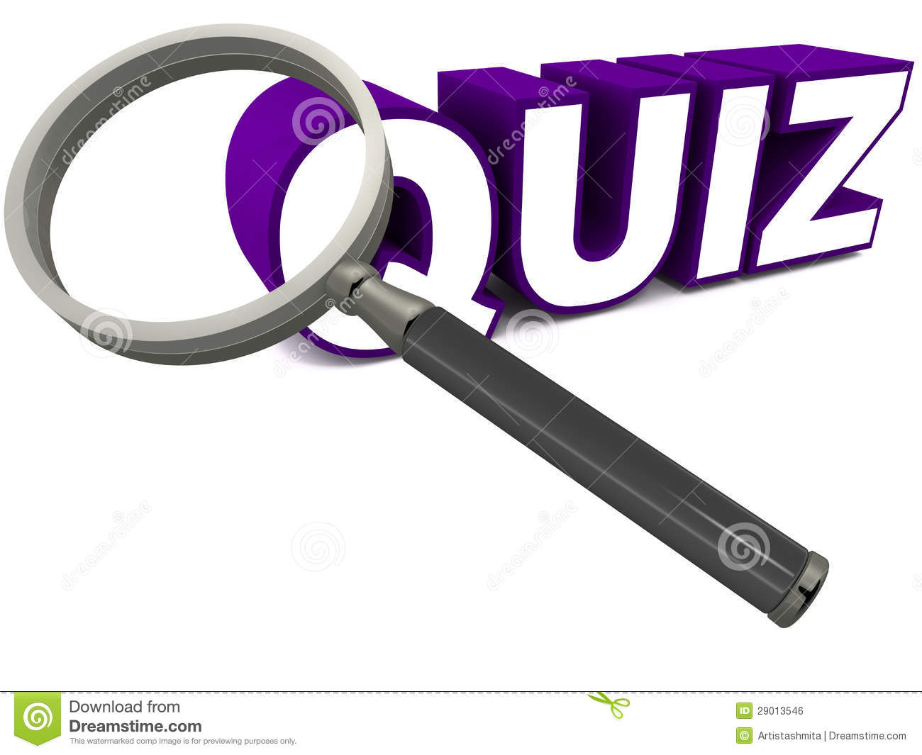 Quiz Royalty Free Stock Image