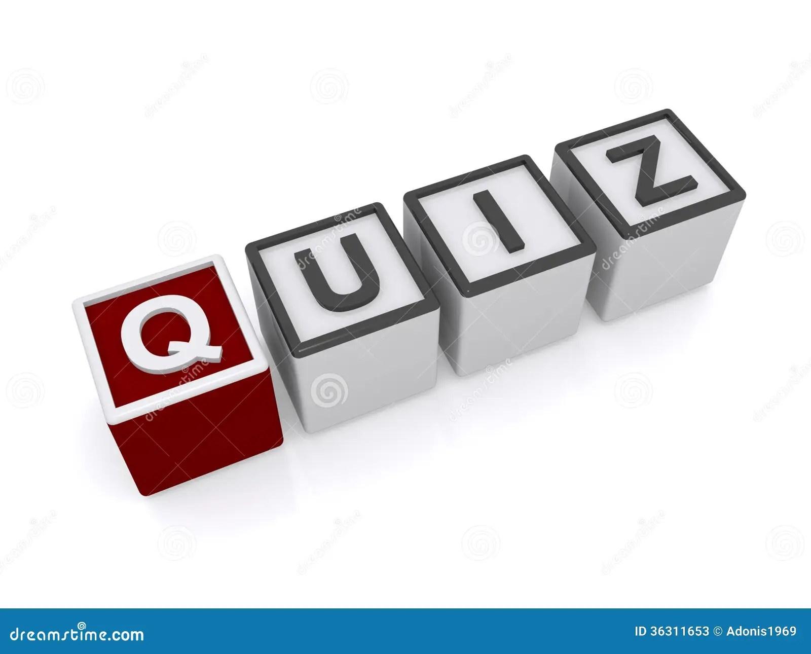 Quiz Sign Stock Photos