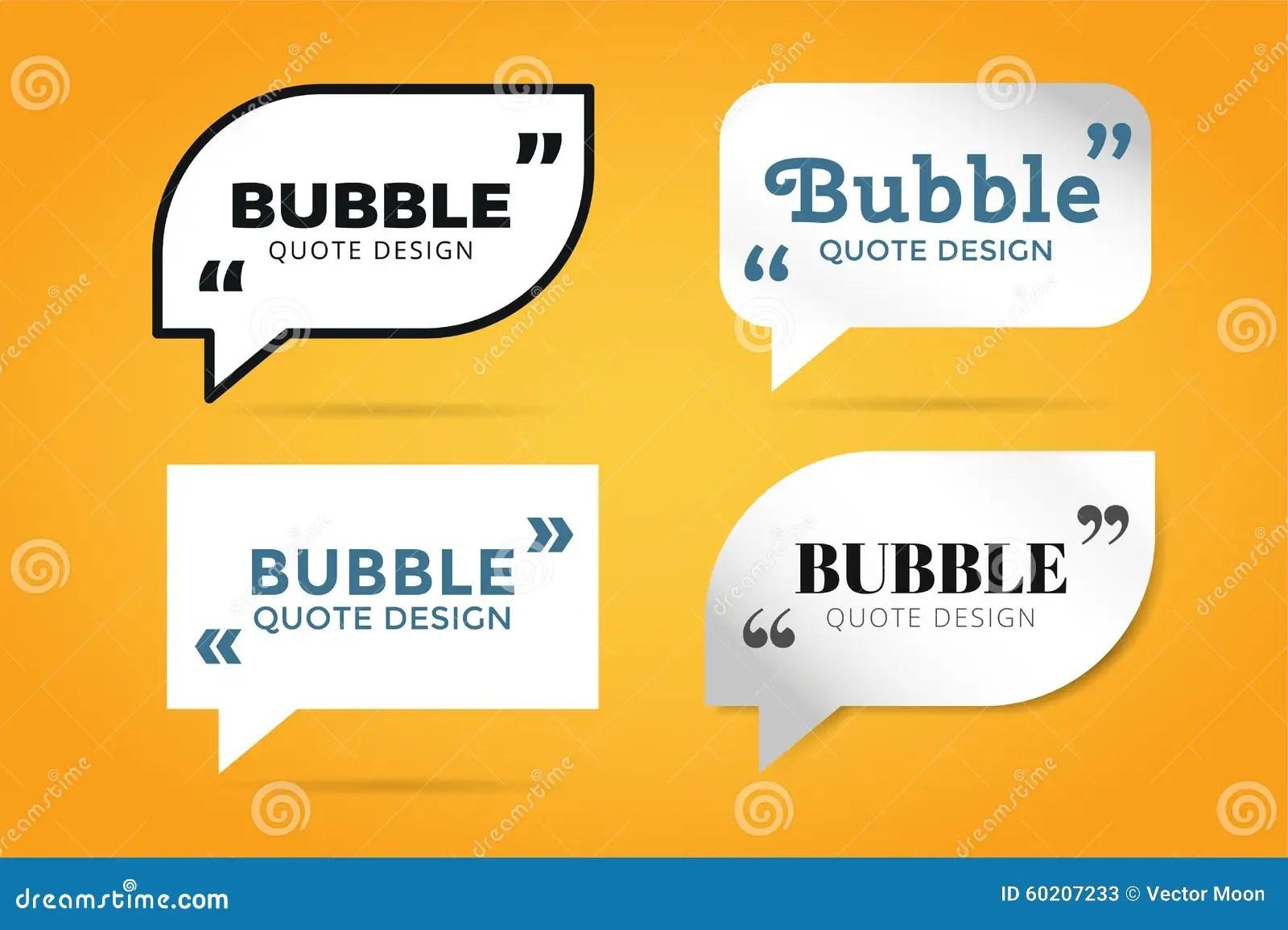 Download Quote Blank Template Bubble Empty Design Stock Vector -  Illustration Of Memo, Design: