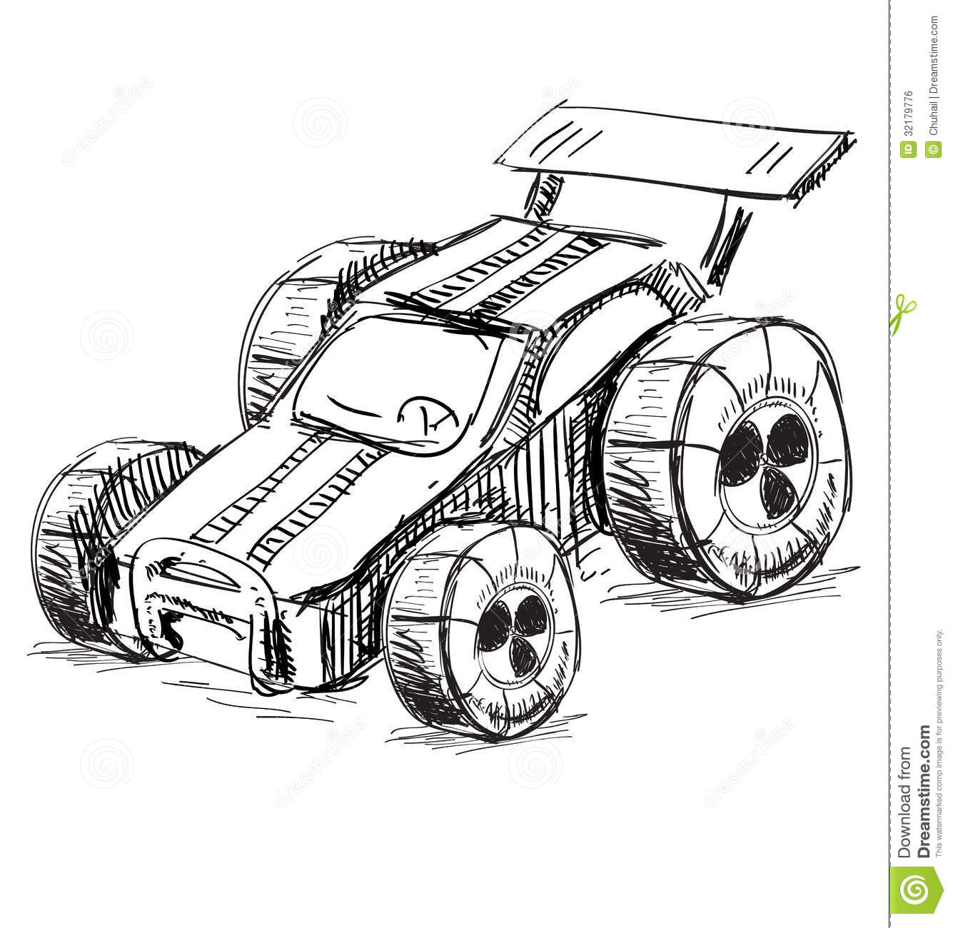 Race Car Stock Vector Image Of Race Racecar Grand