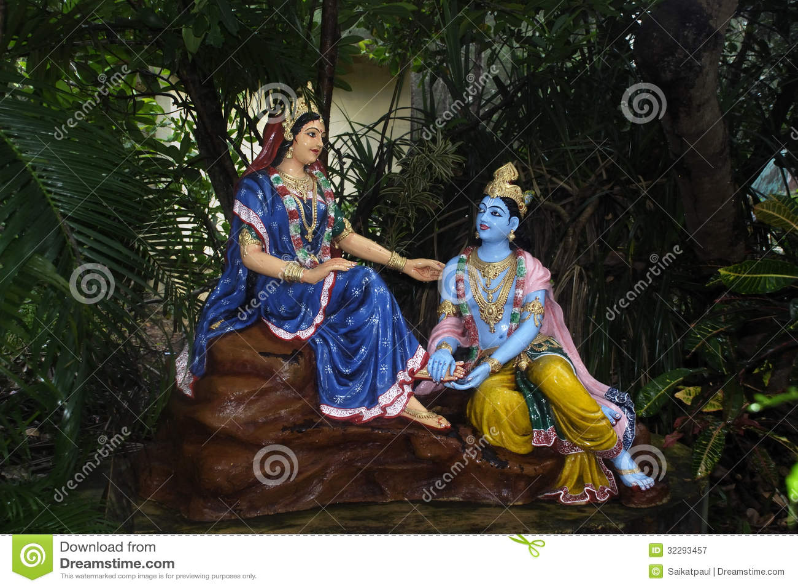 Romantic Radha Krishna Wallpaper Hd Radha Krishna Royalty Free Stock Photography Image 32293457