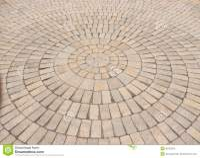Radial Paving Stone Pattern Stock Image - Image of brick ...