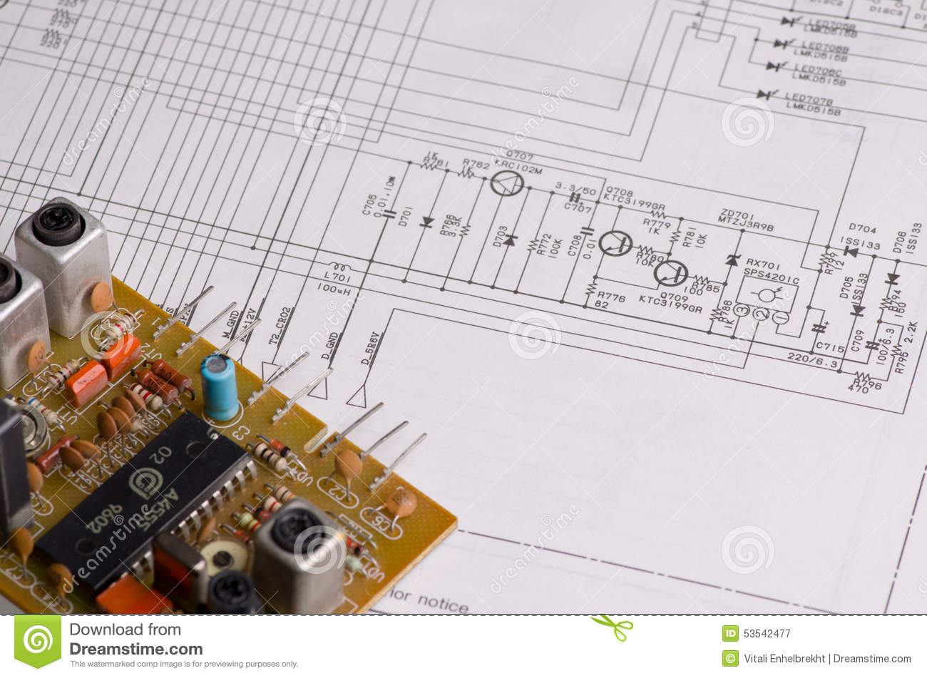 hight resolution of wiring diagram tv on a white background
