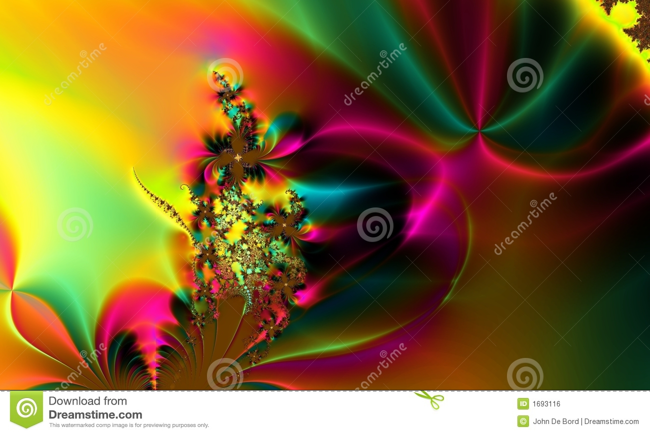 Rainbow Colorful Whimsical Abstract Background Royalty