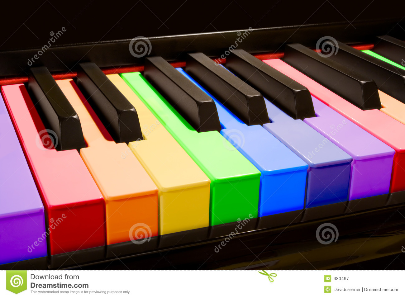 3d Dj Wallpaper Free Download The Rainbow Piano Stock Image Image Of Colour Diverse