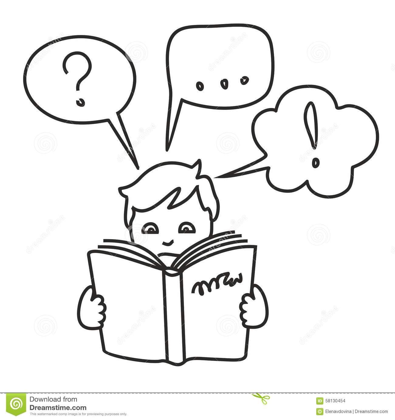 Read A Book, Get Information, Questions, Answers, Thoughts