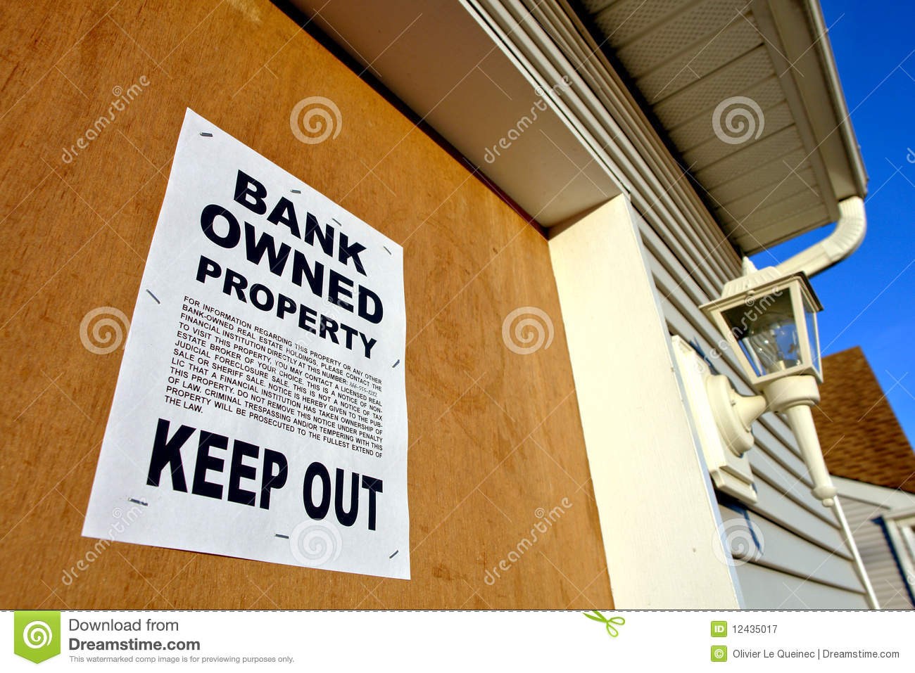 Bank Foreclosure Sale