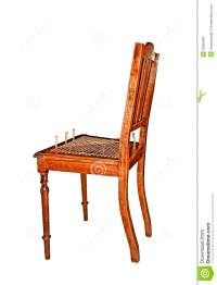 Recaning Old Wooden Chair Stock Photography - Image: 35055662