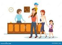 Receptionist Serves Family Advice Keys