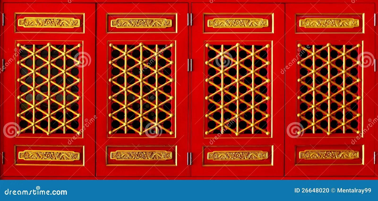 Rectangular Window Chinese Style Stock Photo Image 26648020