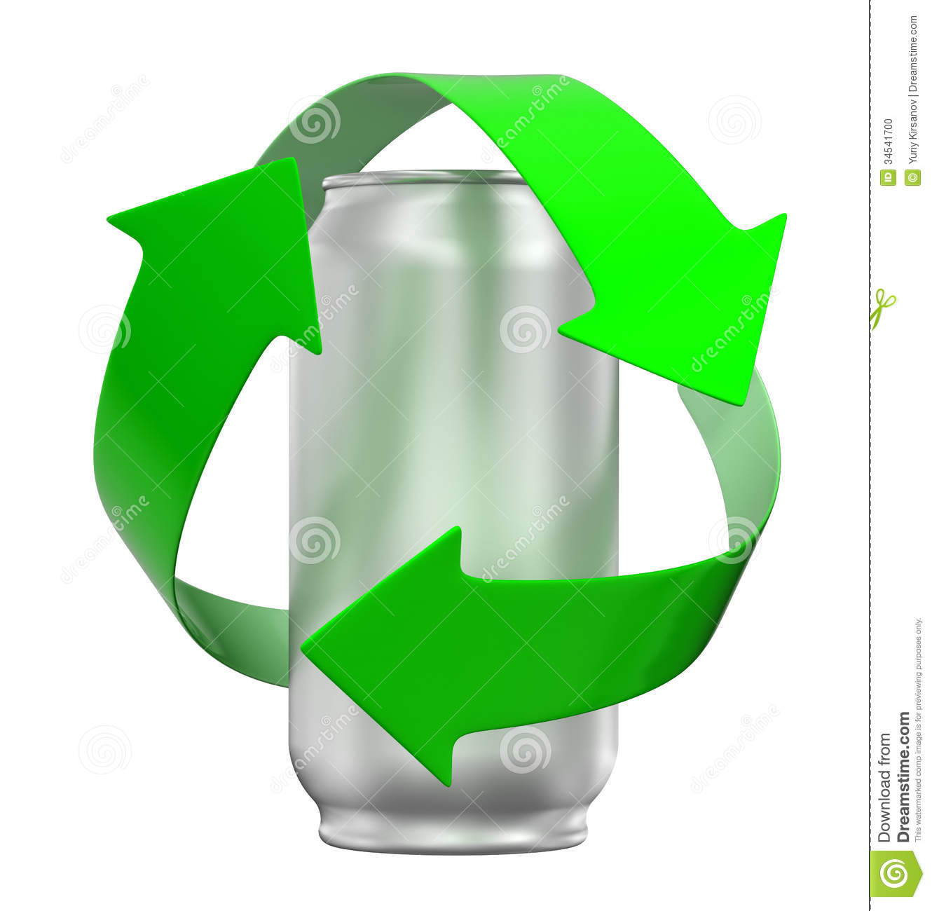hight resolution of recycling can