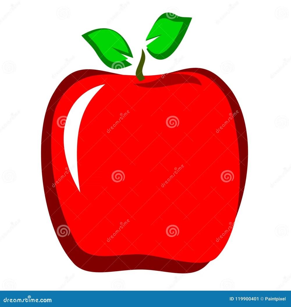 medium resolution of red apple clipart
