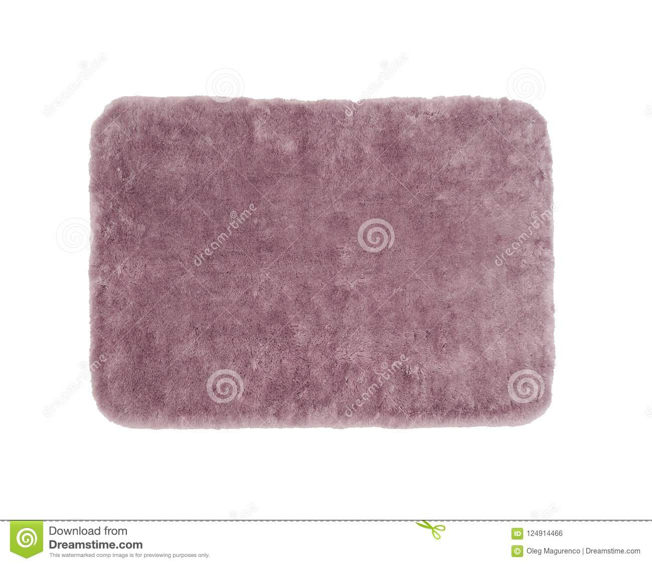 Red Bathroom Rug Red Bath Rug Isolated On White Stock Photo Image Of Bathroom
