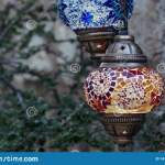 Red And Blue Turkish Lamps Stock Photo Image Of Istanbul 147853188