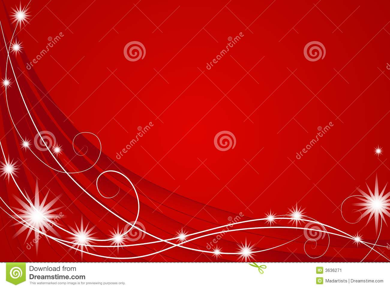 Red Christmas Lights Background Stock Image Image 3636271