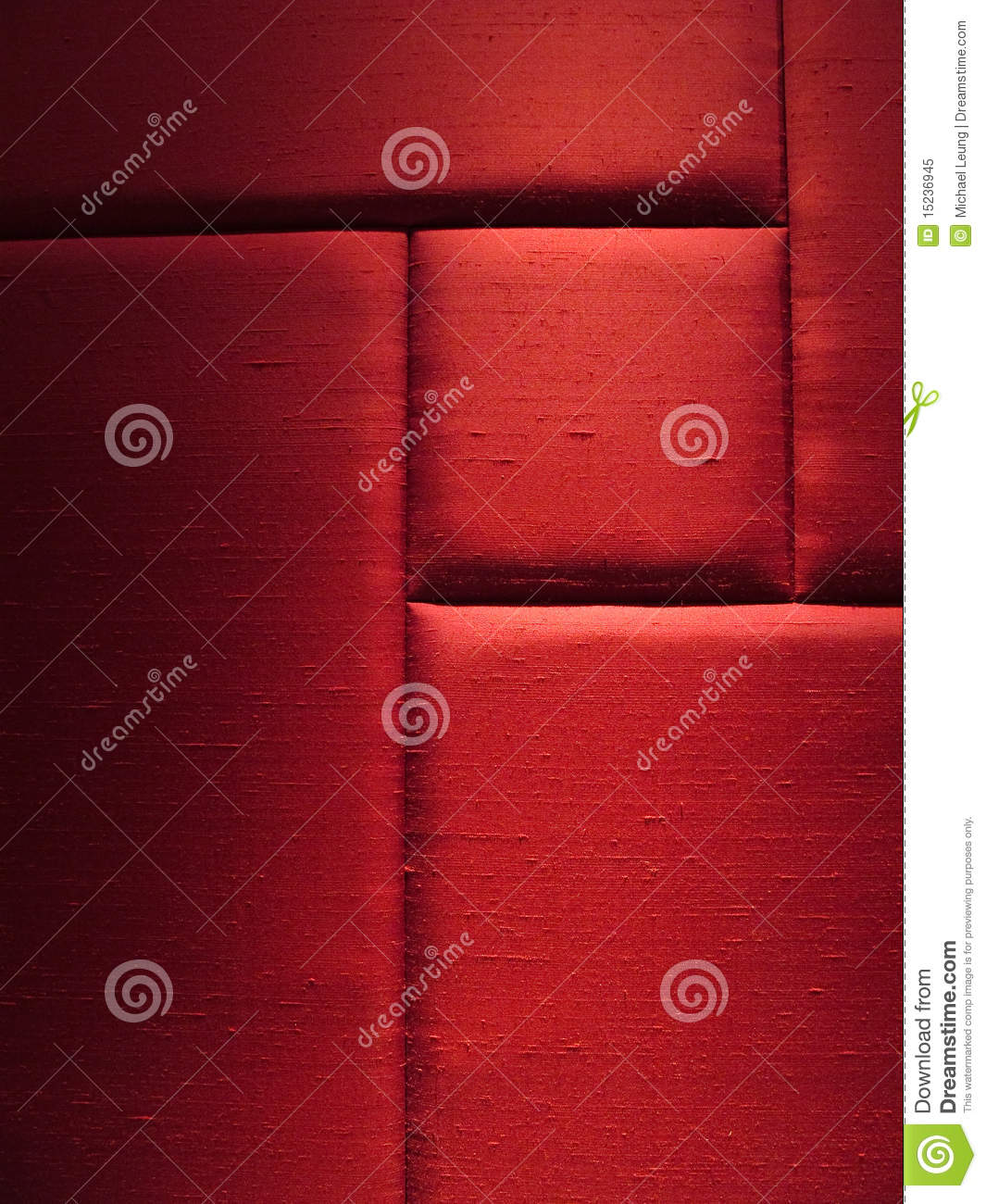 Red Fabric Wall Panel Royalty Free Stock Photo  Image
