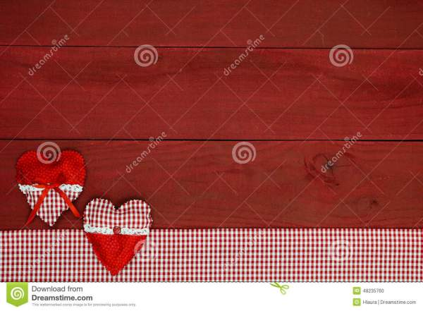 Red and White Checkered Tablecloth Border