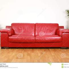 Red Sofa Sectional Cama Carrefour Dakar Leather Stock Image. Image Of Elegant, Object ...