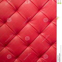 Cloth Sofa Queen Bed Size Red Leather Texture Stock Image. Image Of Design, Vintage ...