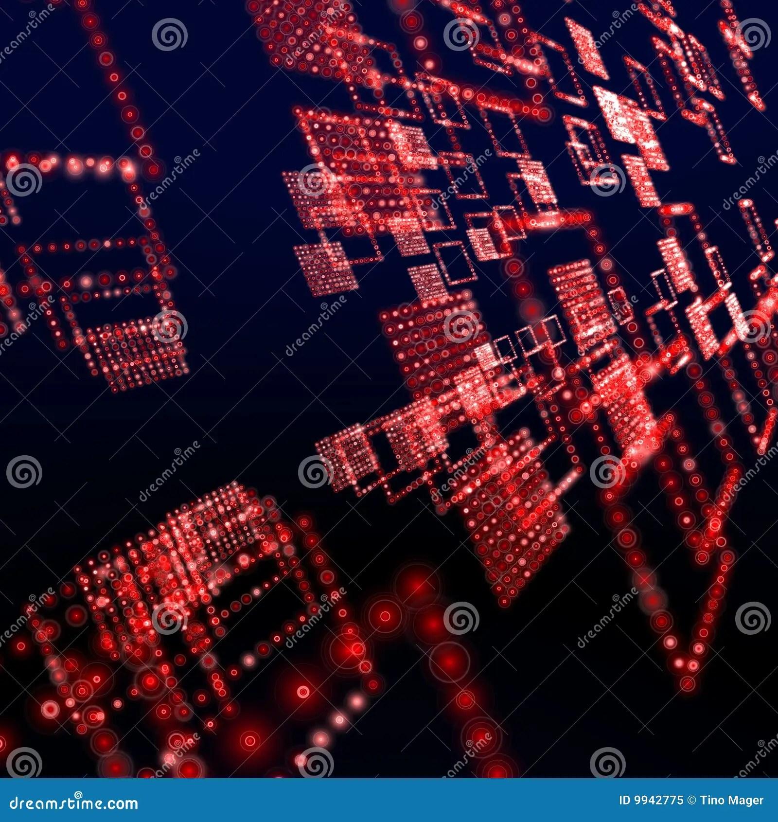 Red Matrix Wallpaper Royalty Free Stock Photo  Image 9942775