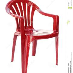 Lifetime Plastic Chairs Philippines With Rollers Red Chair Stock Photos Image 13515903