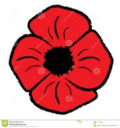 red poppy clipart [ 1300 x 1390 Pixel ]