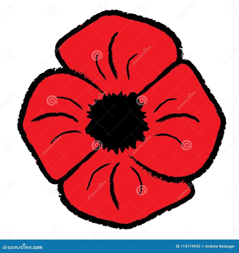 medium resolution of red poppy clipart