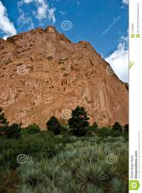 Red Rock Garden Of The Gods Royalty Free Stock Images ...