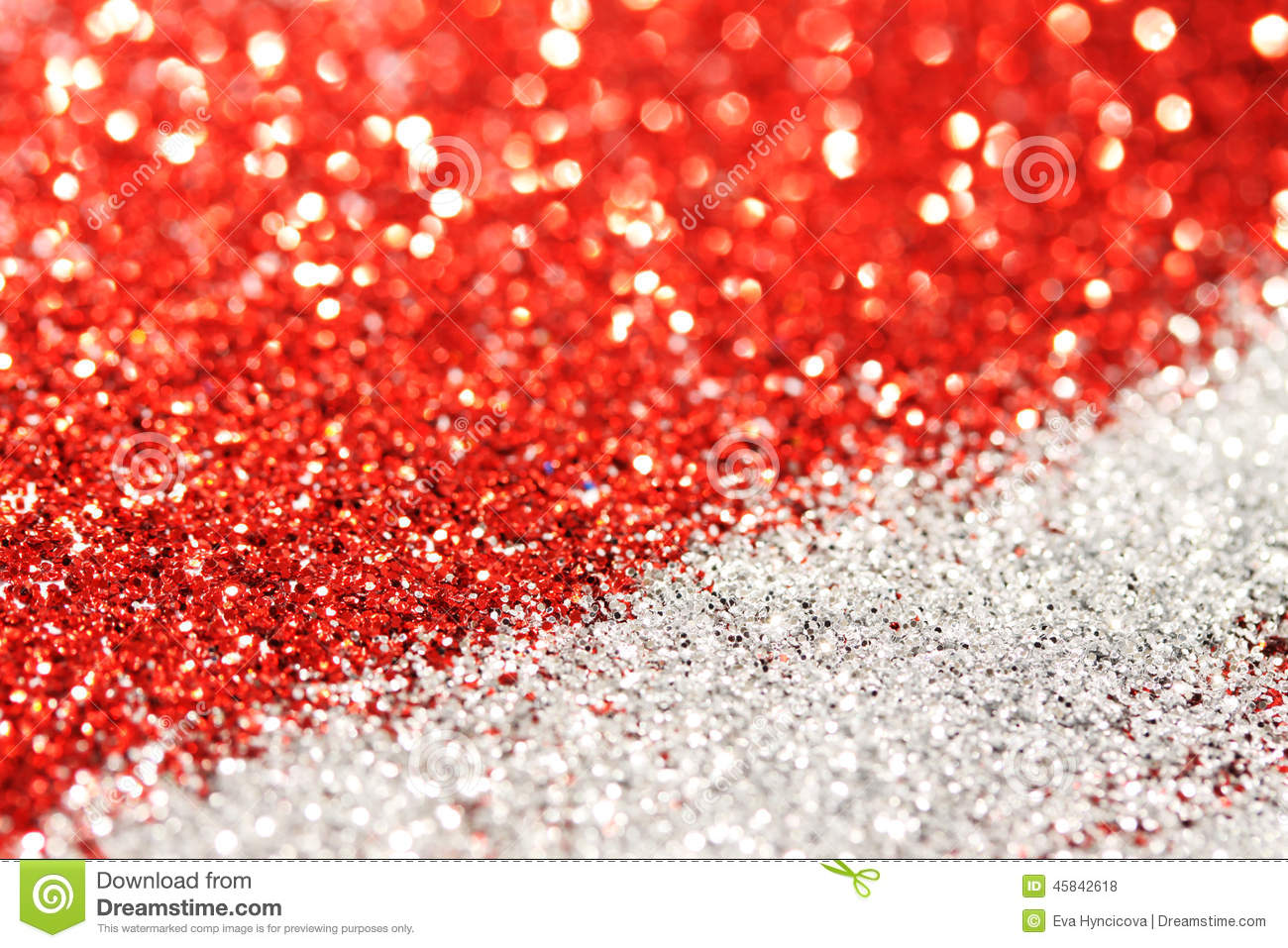 Red And Silver Abstract Bokeh  Perfect Christmas And