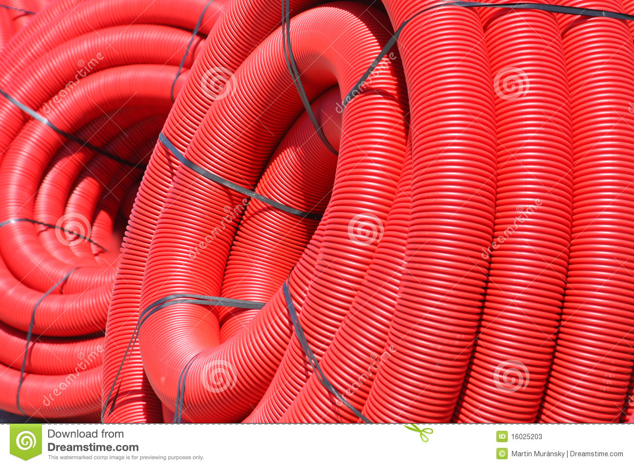 Red Tube Coil Stock Photos - Image: 16025203