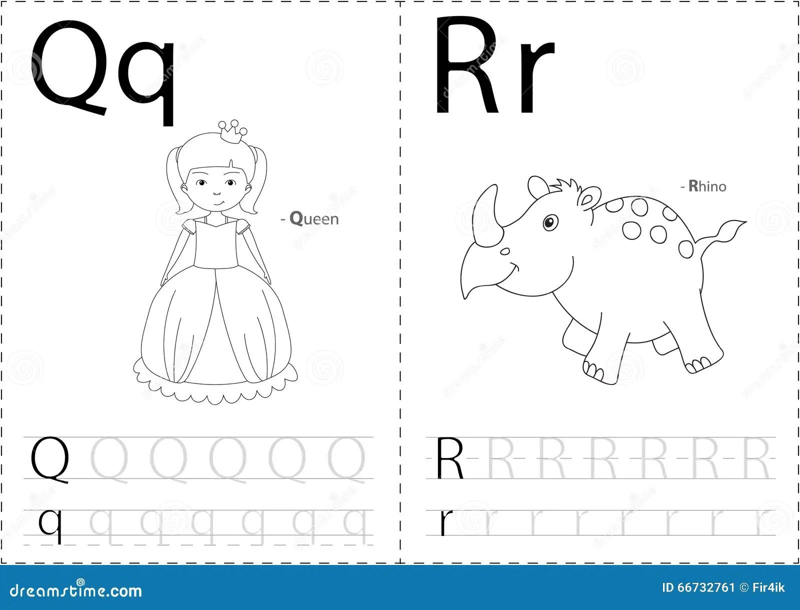 Reine Et Rhinoceros De Bande Dessinee Fiche De Travail De