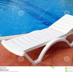 In Water Pool Chairs Wheelchair Van Service Relax Chair Near The Stock Image Of Turquoise