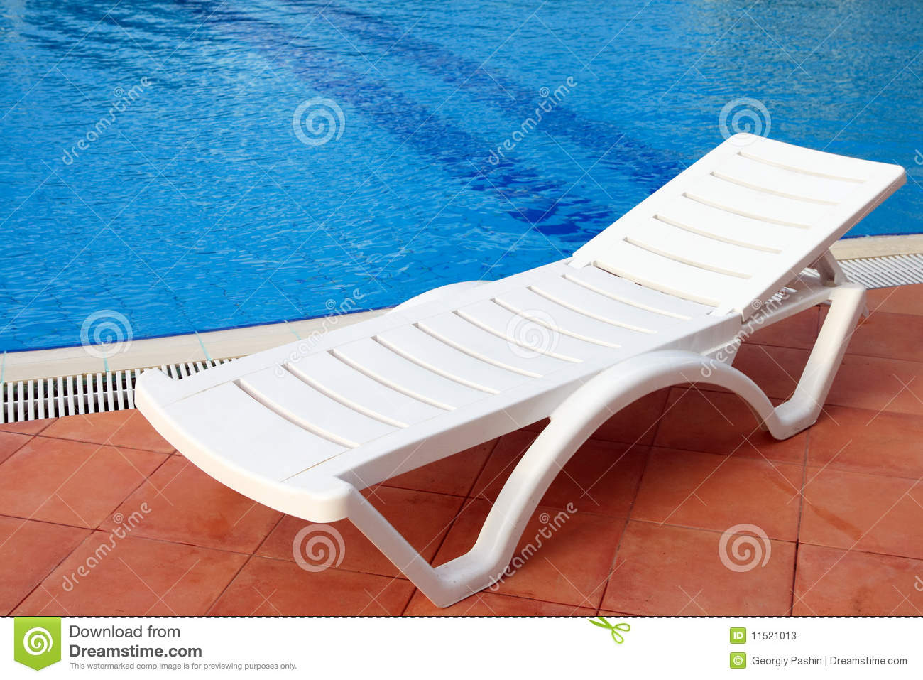 Chairs For Pool Relax Chair Near The Pool Stock Photos Image 11521013