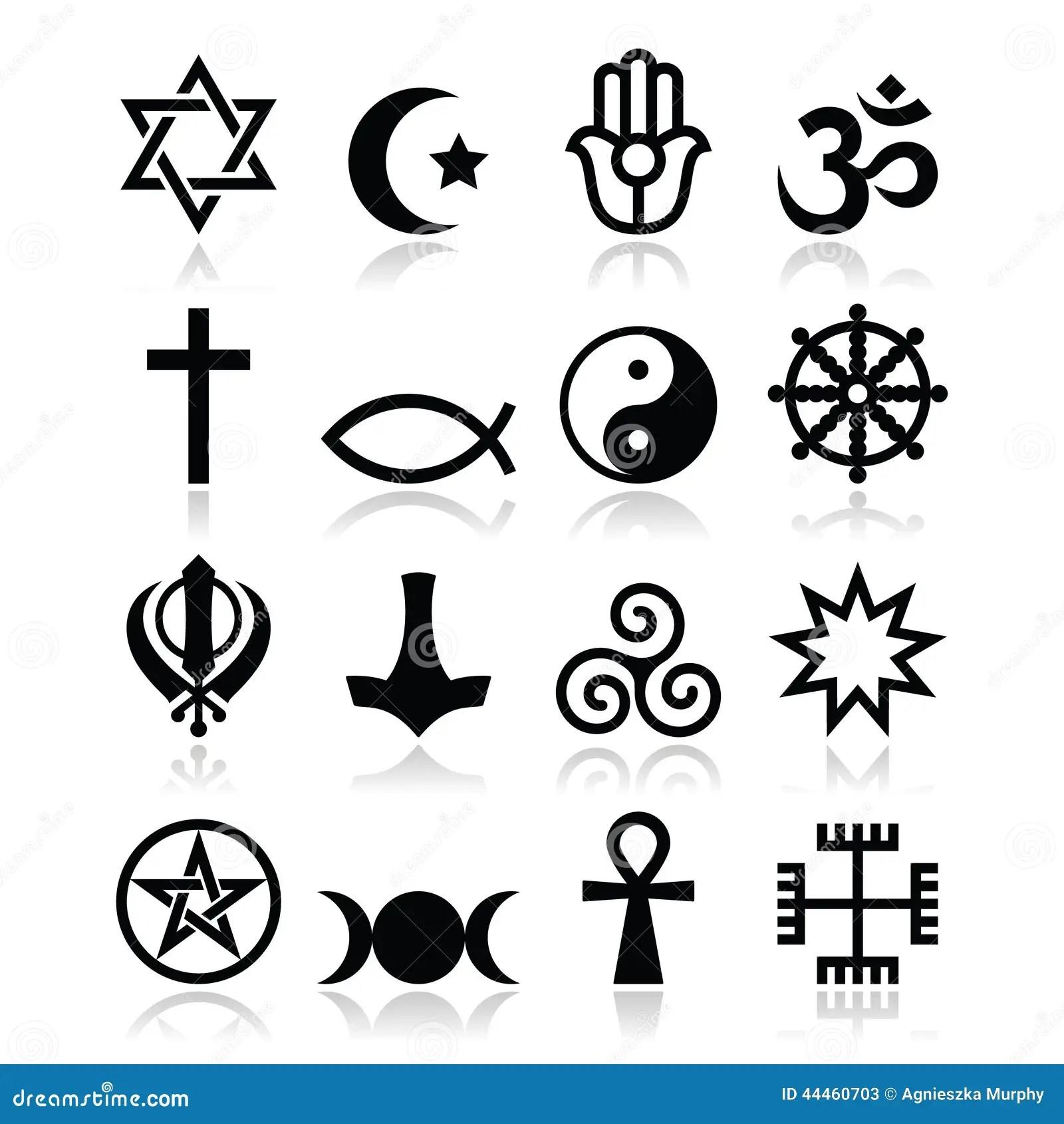 Religiao Dos Simbolos Do Mundo