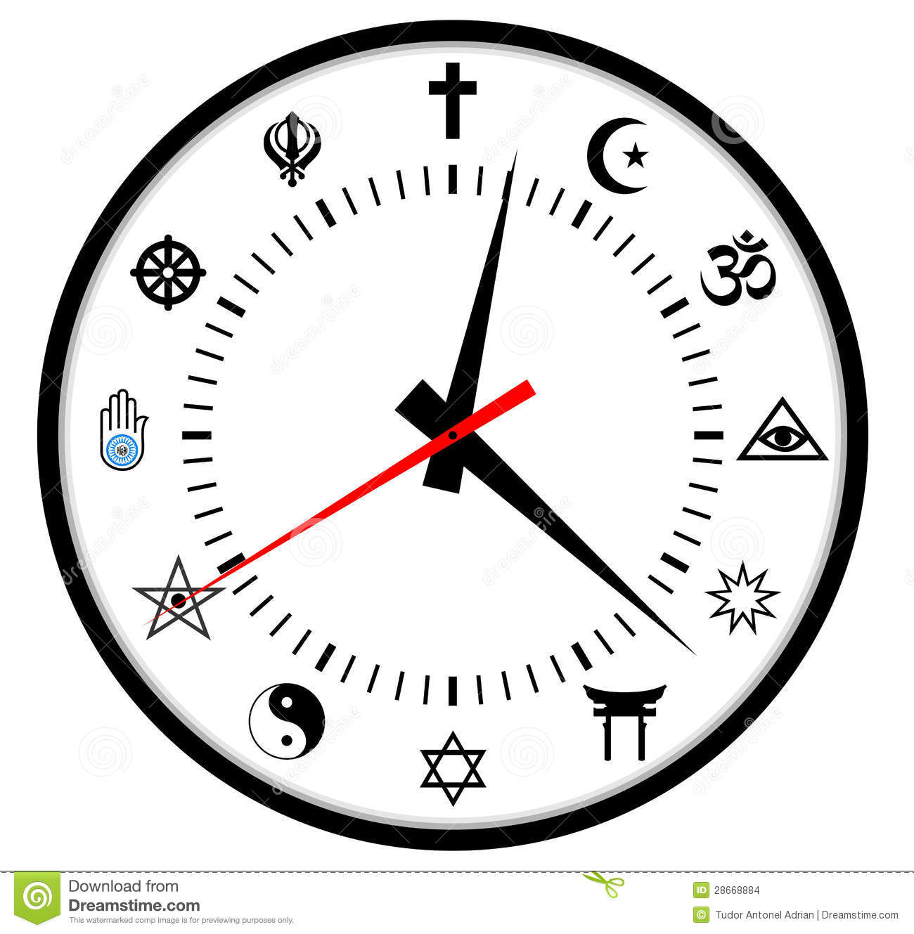5 Major World Religions Symbols Pictures To Pin On