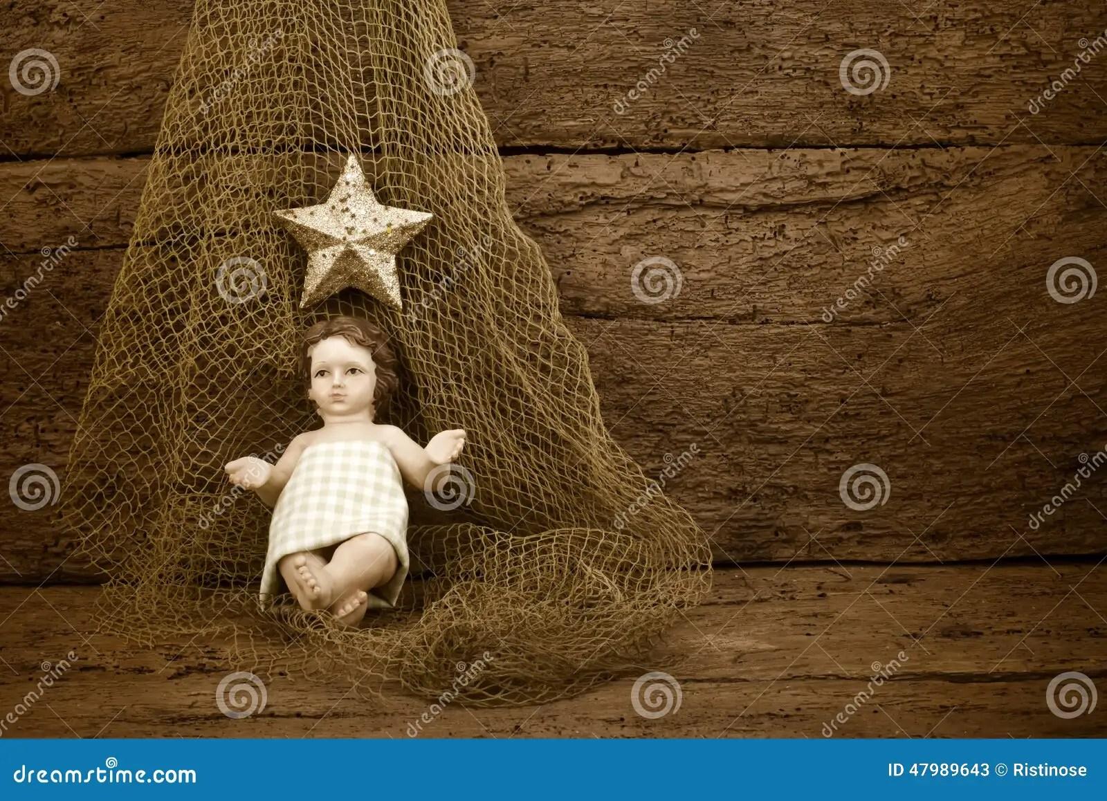 Religious Christmas Baby Jesus Stock Image Image 47989643