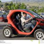 Renault Twizy Electric Car In Spain Editorial Stock Photo Image Of Glass White 116488318