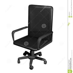 Office Chair Illustration Revolving Render Stock Image 53523516