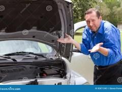 Repair Broken Car Stock Image Image Of Broke