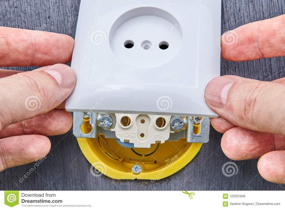 medium resolution of installing top panel on household electrical socket