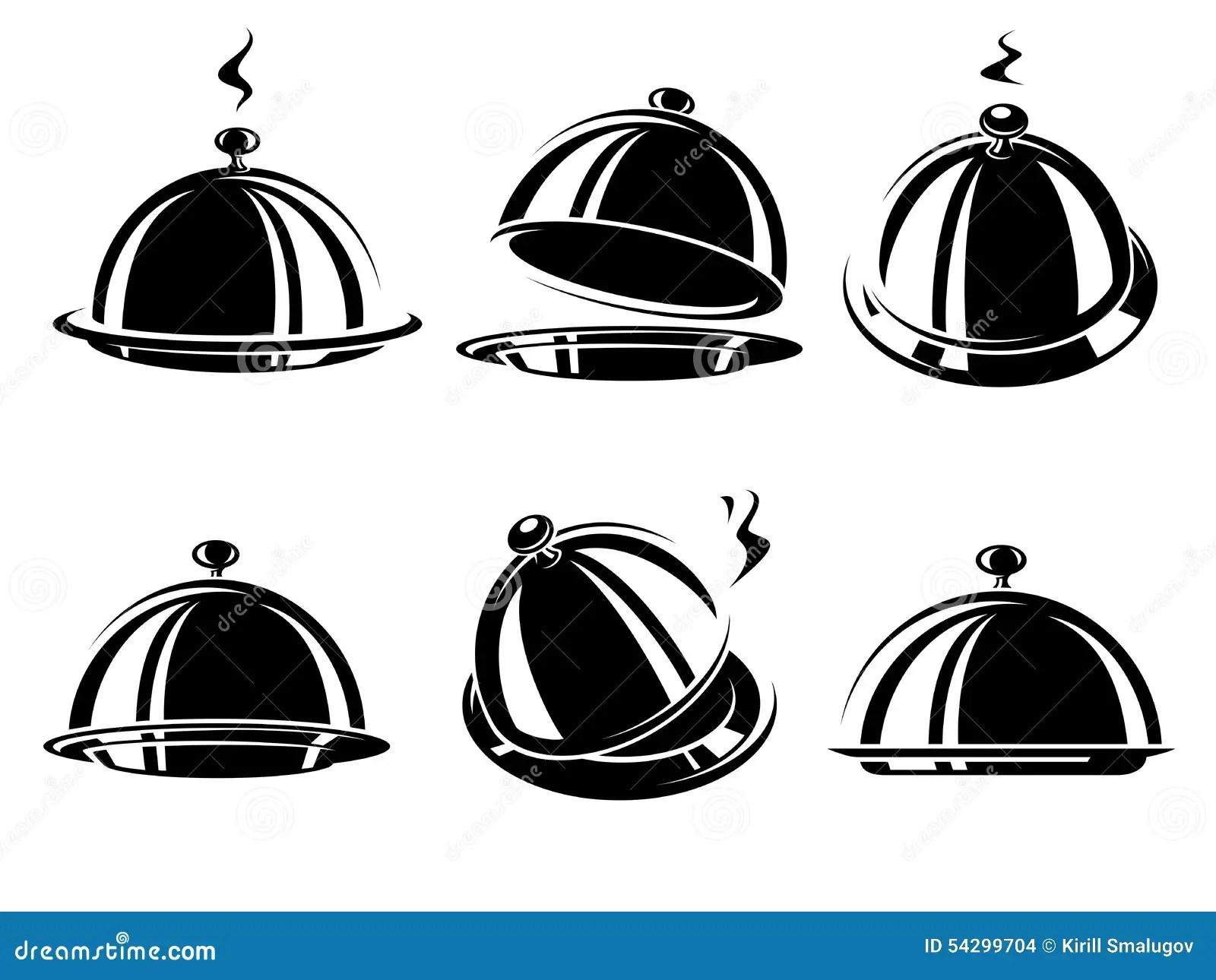Restaurant De Cloche Vecteur Illustration De Vecteur