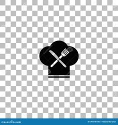 restaurant icon menu flat