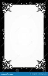 menu restaurant template card frame blank fancy background cute celebration preview classic