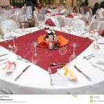 Restaurant Table Setup Stock Photo Image Of Banquet Table 7746164
