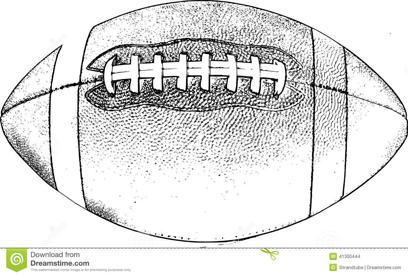 Stock Images Retro American Football Image