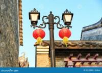 Vintage Streetlight Road Lamp Street Light Outdoor ...