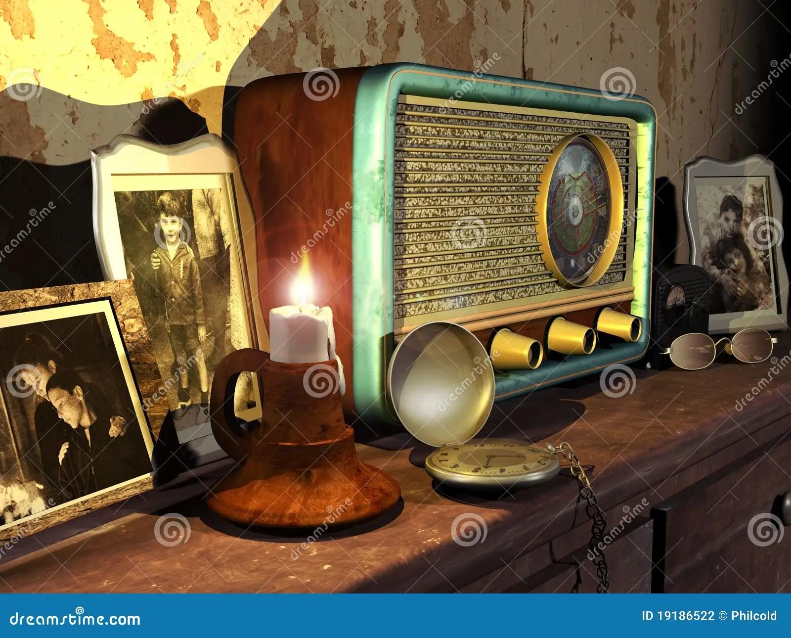 Vintage Audio Living Room