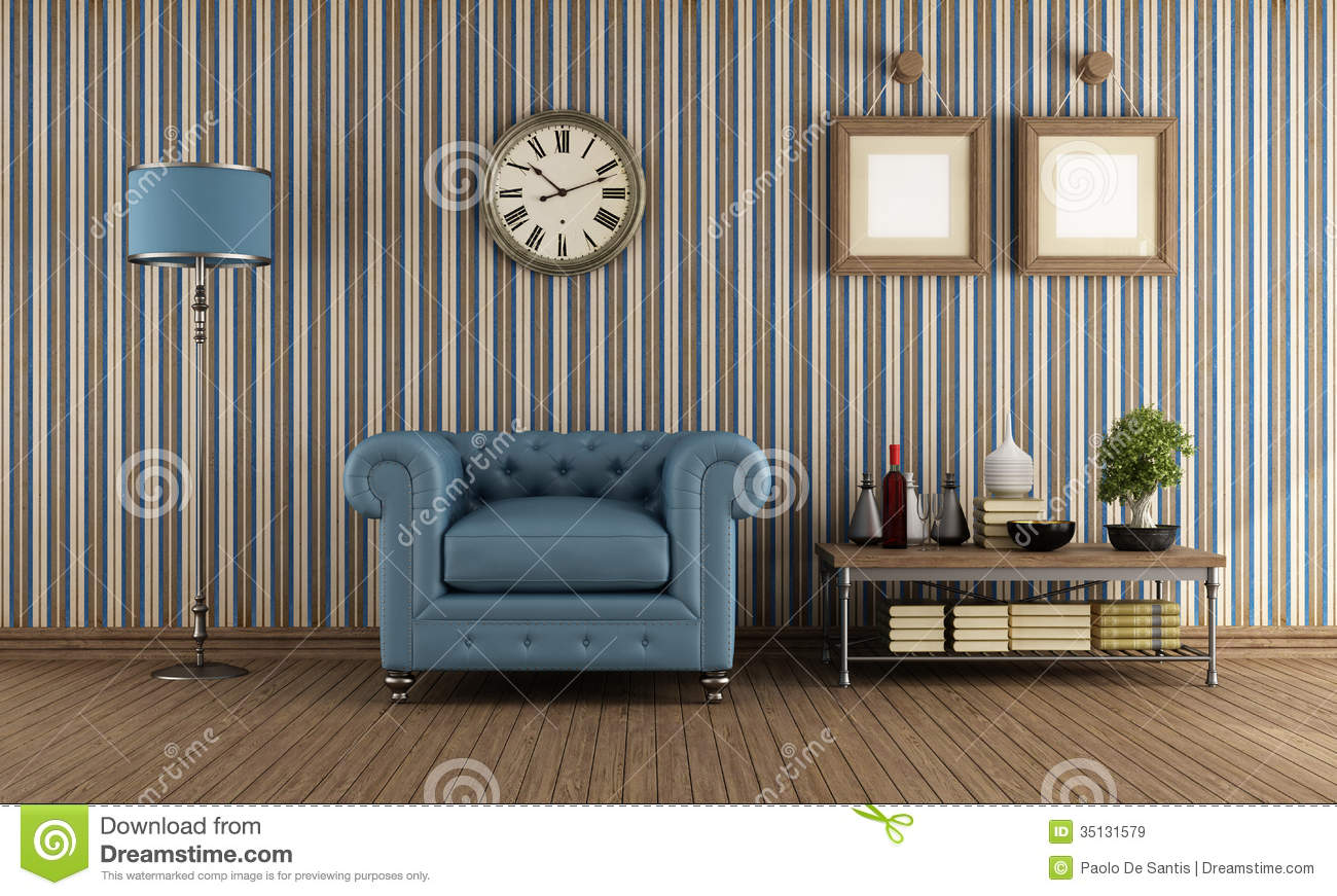 Living Room Vector Background