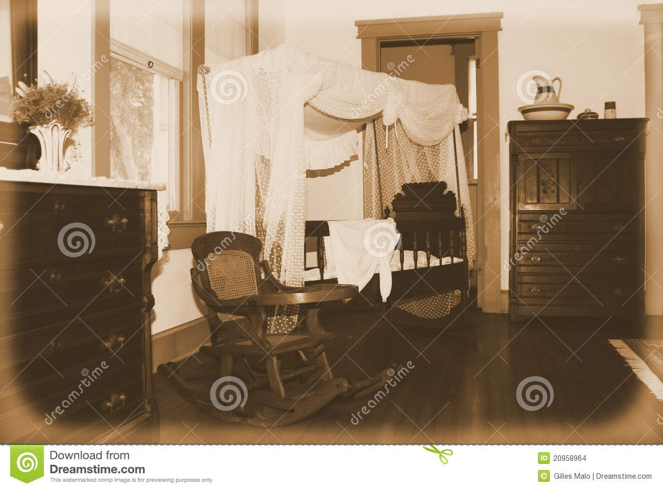Retro Nursery Stock Images  Image 20958964